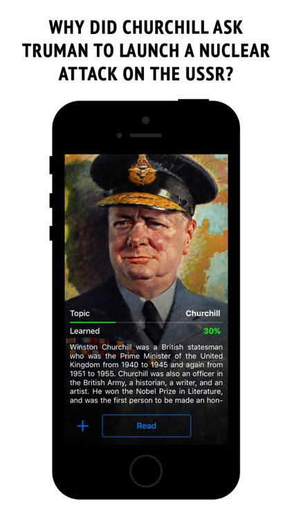 Churchill - interactive book