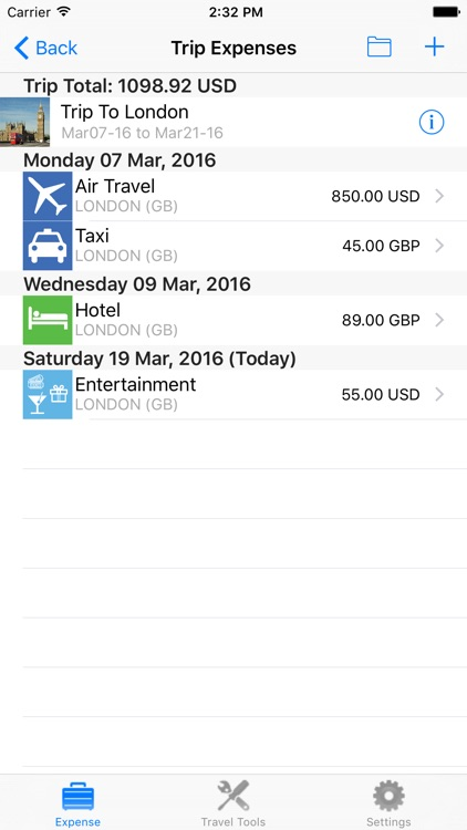 Travoy Expense Report screenshot-3