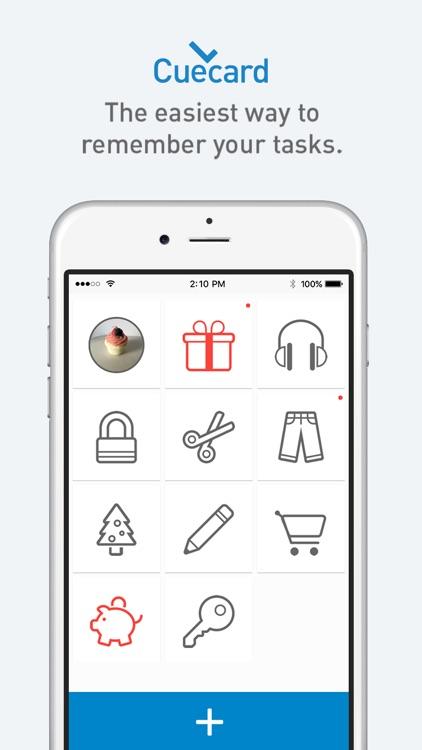 Cuecard - Visual To-Do List, Tasks & Reminders screenshot-0