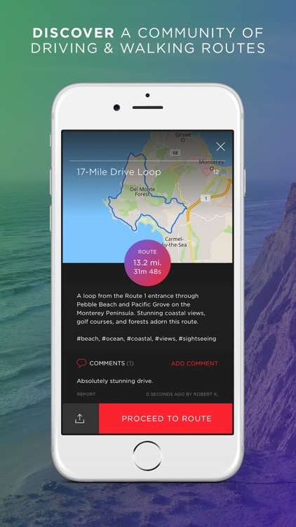 Round - Navigation for Scenic Routes, GPS Drive & Walk Tracker