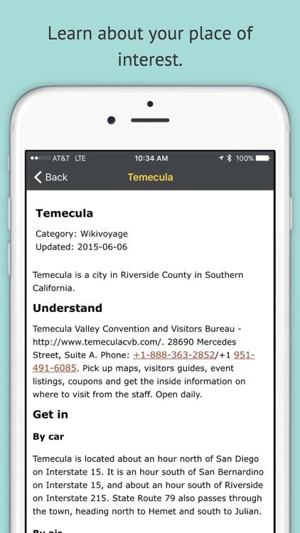 Backseat Driver International - Wikipedia and Wikivoyage Places of Interest screenshot-4