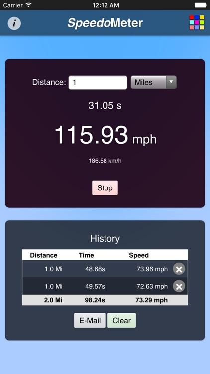 Speedometer App 2