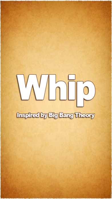Simple Whip - Big Bang Theory Free App on Whipping Sound