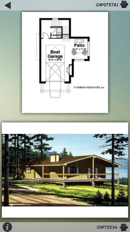 Cabin House Plans Info screenshot-0