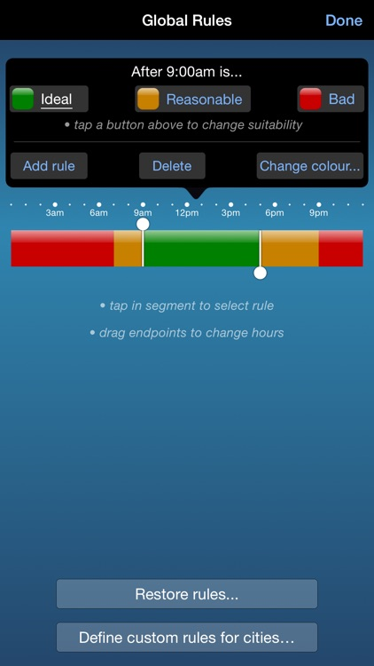 TimeScroller - Time Zone Utility screenshot-4