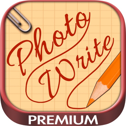 Write and draw on photos – Premium