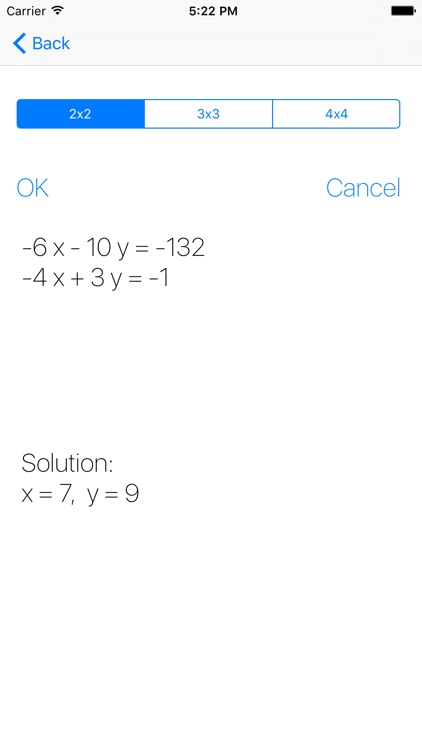 Systems Of Equations screenshot-4