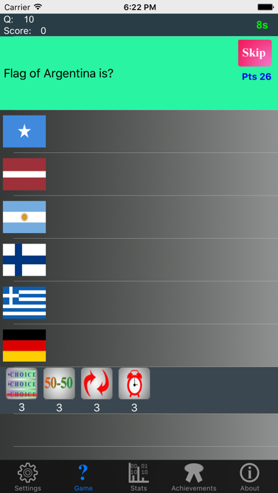 Ultimate Country Flags Trivia screenshot two