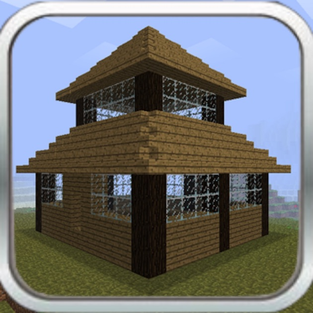 Houses for minecraft advanced building guide on the app House building app