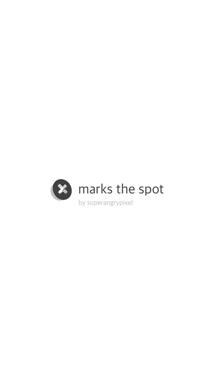 marks the spot.