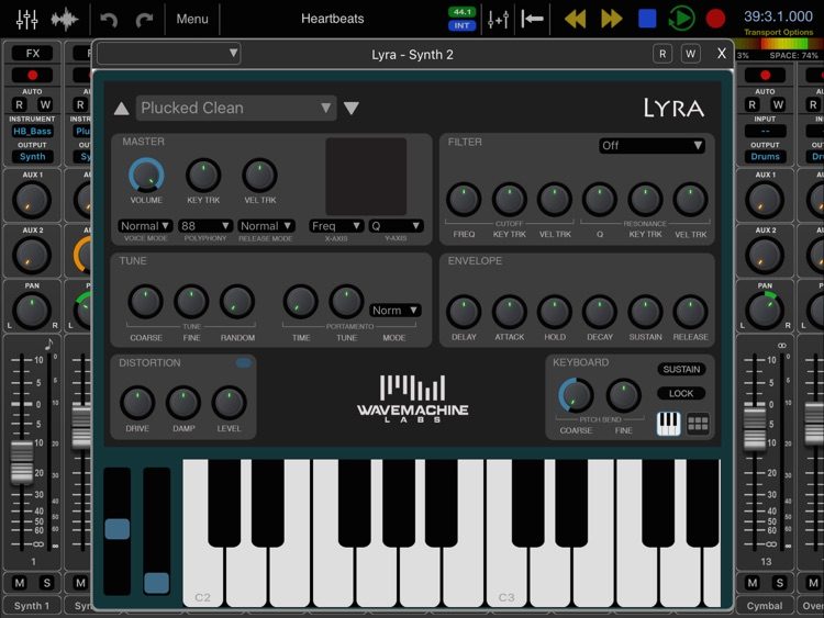 Auria Pro - Mobile Music Production screenshot-4