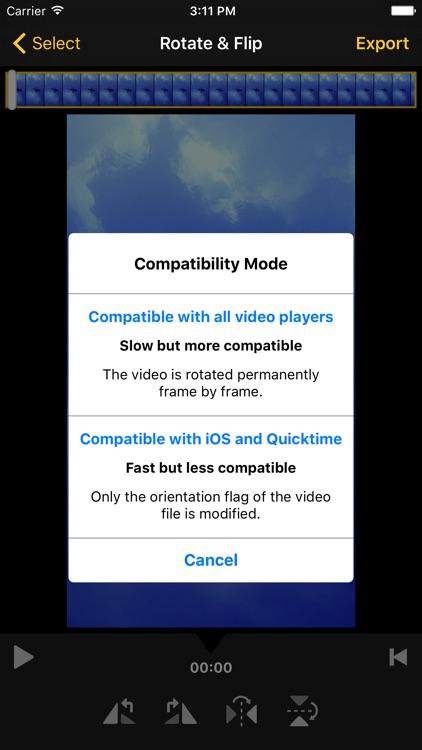 Video Rotate & Flip (No Time Limit) screenshot-3