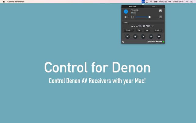 denon app für mac