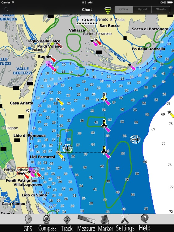 Adriatic Nautical Charts Pro screenshot-3