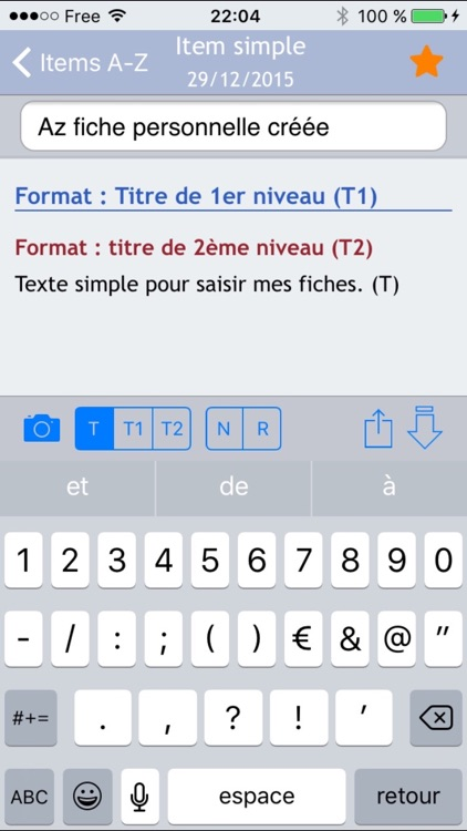 L'appli de l'infirmier screenshot-2
