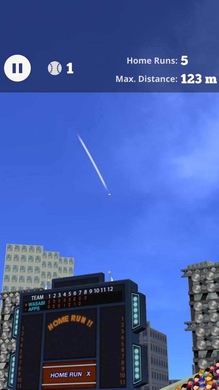 Home Run X 3D - Baseball Batting Game Screenshot
