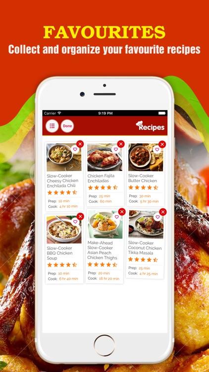 Yummy Chicken Recipes screenshot-3