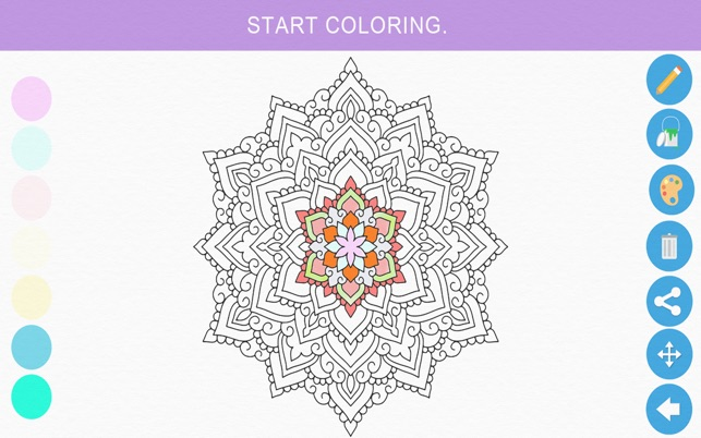 Zen Coloring Book For Adults On The Mac App Store
