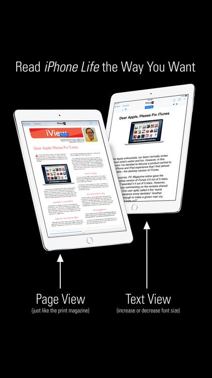 iPhone Life magazine: Best Apps, Top Tips, Great Gear screenshot-4