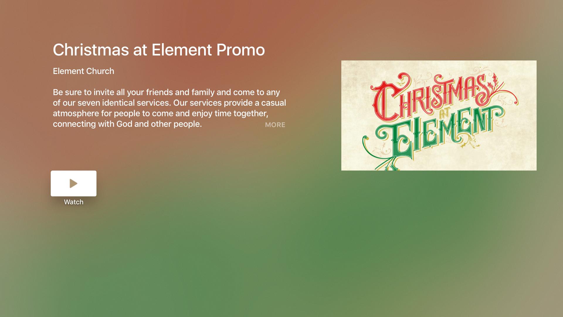 Element Church App screenshot 9