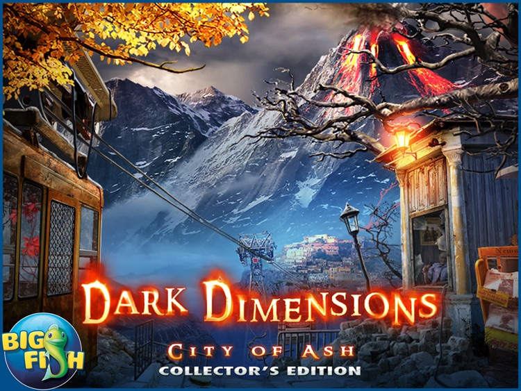 Dark Dimensions: City of Ash HD - A Mystery Hidden Object Game (Full) screenshot-4