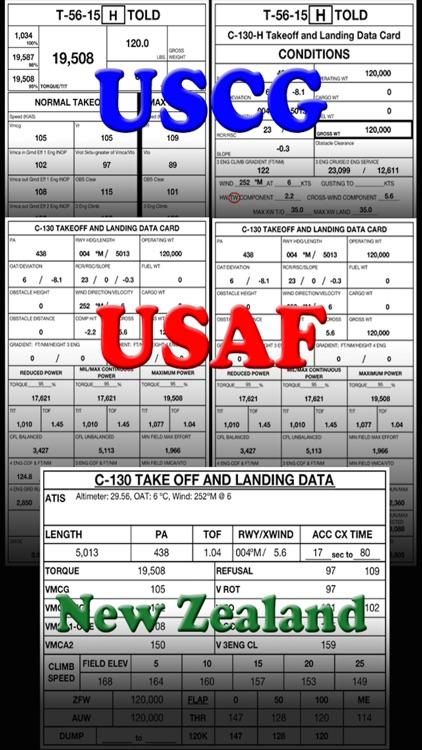 C-130 TOLD Card Calculator (T56-A-15 engines)