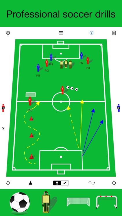 Soccer coaching board