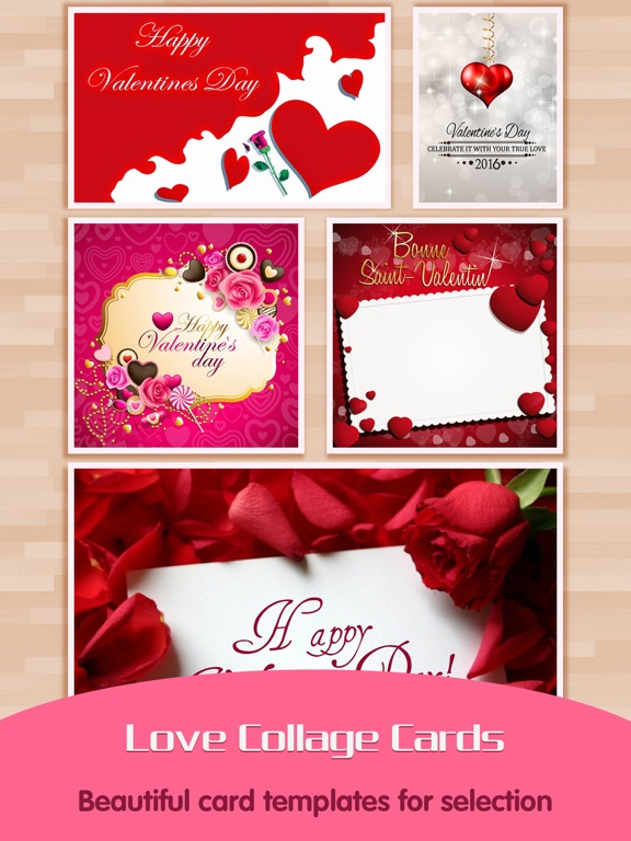 Love Greeting Cards Maker Picture Frames For Valentines Day