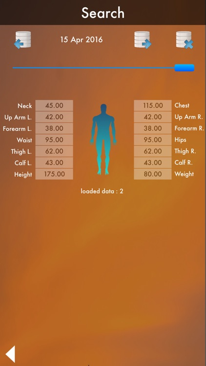 Perfect Body : Fat Calculator & Body Database - Diet and Workout screenshot-3