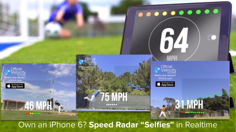 Athla Velocity: Hands-Free Speed Radar for Baseball, Softball, Tennis, Soccer and Cricket (Free) screenshot-3