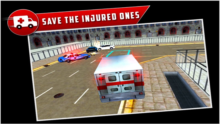 City Ambulance Rescue Drive 3D screenshot-1