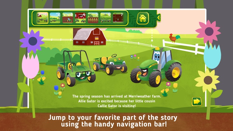 Johnny Tractor and Friends: Growing Season screenshot-0