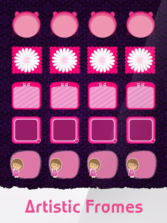 Screenshot 3 For Pink Icon Skins Maker Home Screen Wallpapers Pro IPhone