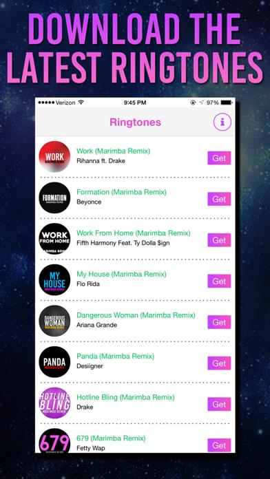 Remix Ringtones for iPhone - Marimba Ringtone Remixes by