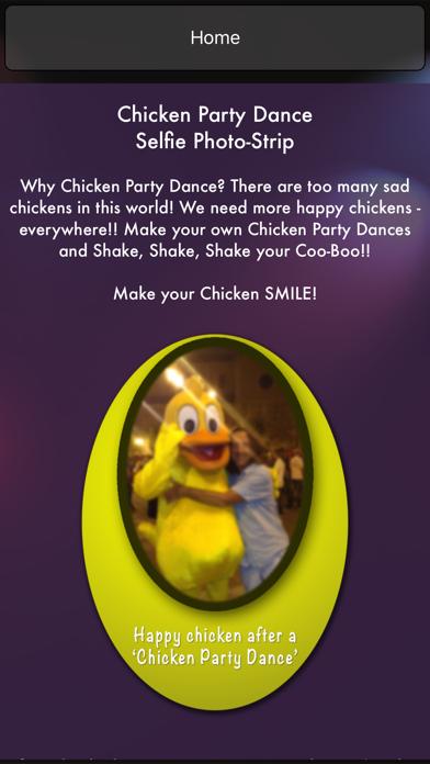 Chicken Party Dance Selfie Photo Strips - Shake, Shake, Shake your Coo-Boo! screenshot three