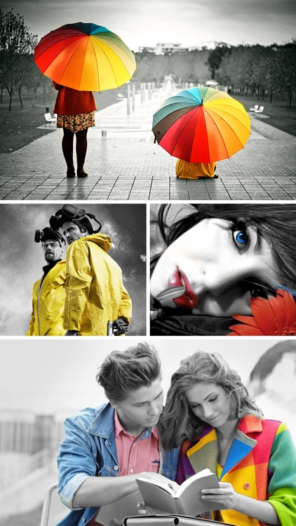 Touch Color Effects - Change Image Colors, Splash Black & White to Camera Photos screenshot-3