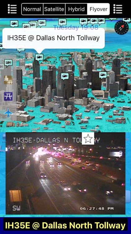 Texas NOAA Radar with Traffic Cameras 3D Pro