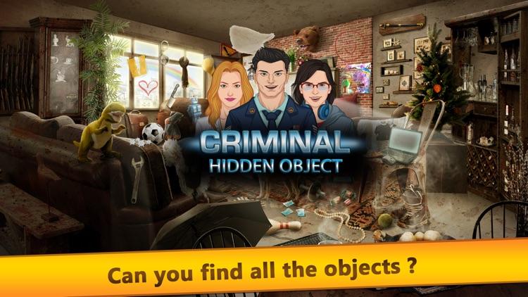 Tap Criminal - Hidden Object