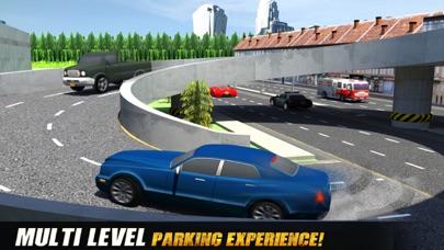 マルチレベルのスポーツカーの駐車シミュレータ:マルチプレイ 実際の生活のレースゲームのおすすめ画像1