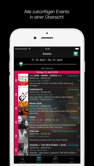 Clubs, Bars und Events in München - clubagoScreenshot von 3