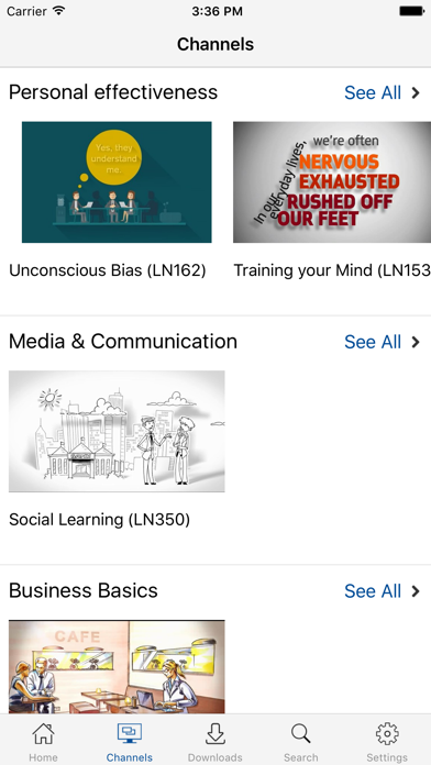 Learning Nuggets screenshot two