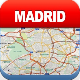 Madrid Offline Map - City Metro Airport