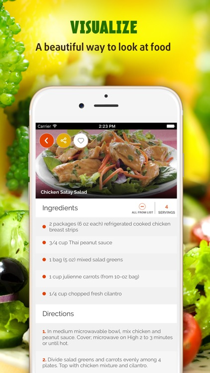 Salad Recipes ~ The Best Easy & Healthy Salad Recipes screenshot-1