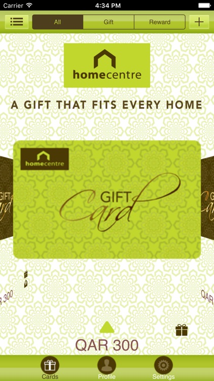 UAE Home Centre mGiftCard