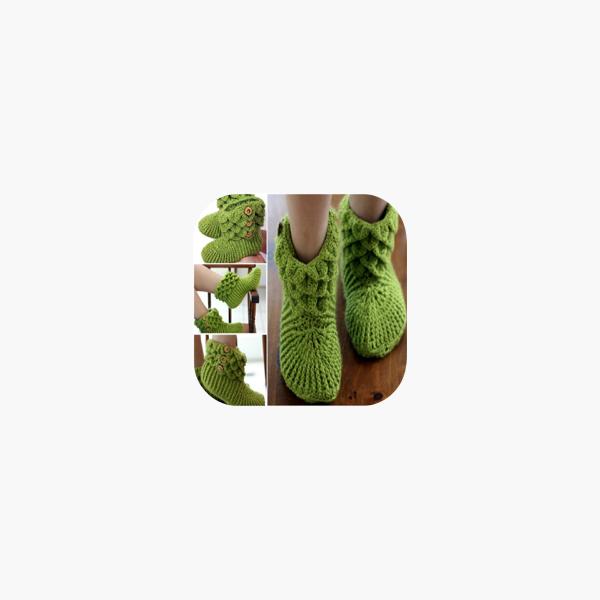 Zapatitos Tejidos a Crochet en App Store