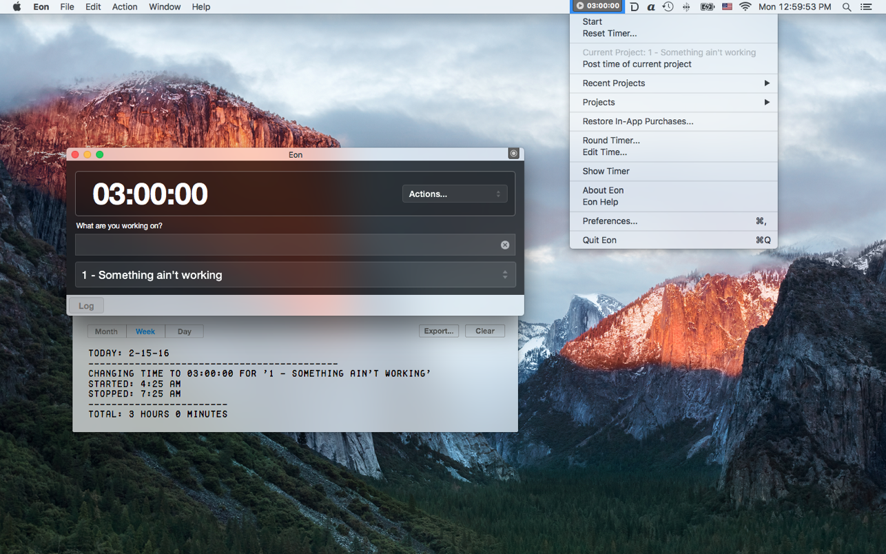 Eon Timer 2.8.6 Mac 破解版 优秀的时间跟踪定时器