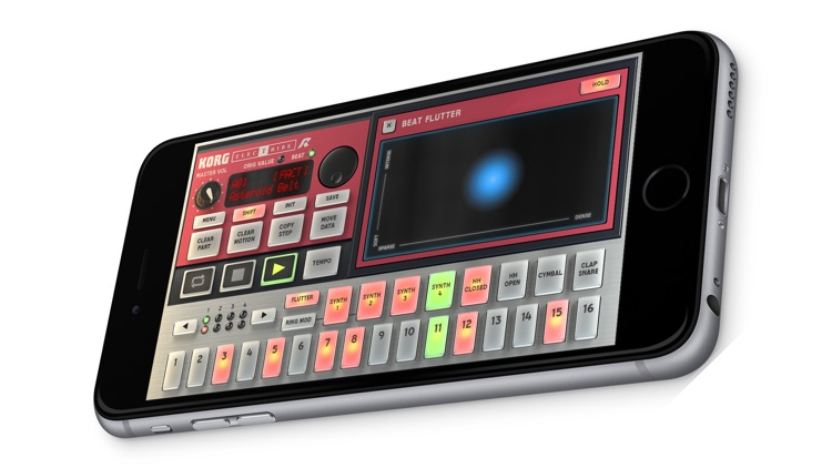 KORG iELECTRIBE for iPhone screenshot-3