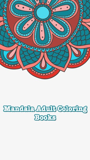 Coloring Books Mandala Adult Games For Relax On The App Store