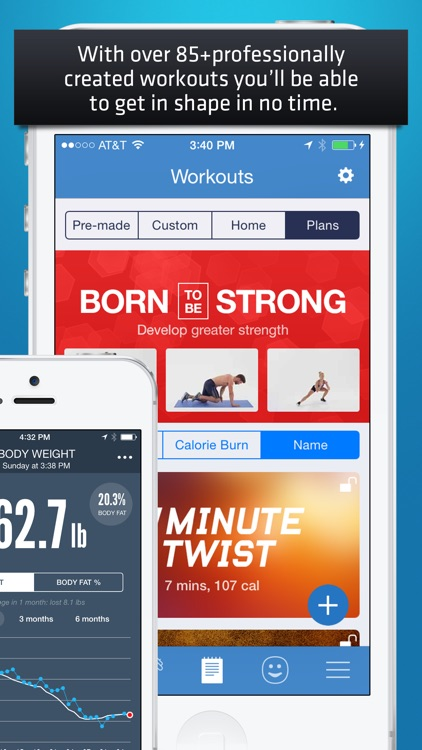 Fitness Buddy+ Gym Workout Exercise, Home Trainer app image