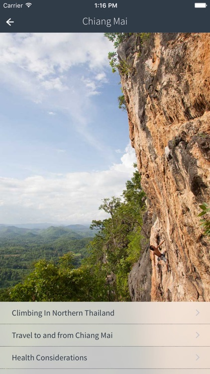 Climbing in Northern Thailand